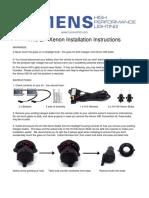 H13 Bi-Xenon Kit Install Instructions