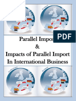 Parallel Importing