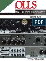 Rolls Audio Catalog