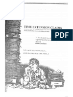 Time Extension Claims