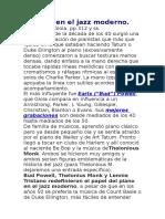 Historia Del Jazz 12 - El Piano en El Jazz Moderno