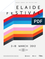 2012 Adelaide Festival Booking Guide