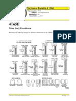 cuerpo de valvulas de la 4t65e