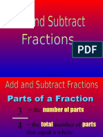 add   subtract unlike denominators