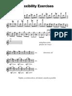 Flute Flexibility Excercises - Exactly After MARCEL MOYSE - De LA SONORITE