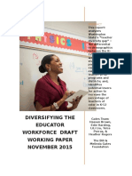 Gates Foundation Teacher Diversity Paper