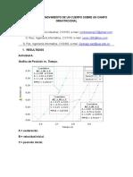 Analisis Del Movimiento de Un Cuerpo Sobre Un Campo Gravitacional (1)
