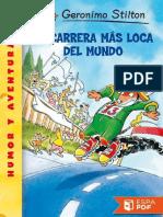 Prueba de la carrerra Mas Loca Del Mundo - Geronimo Stilton