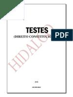 Testes Comentados de Direito Constitucional