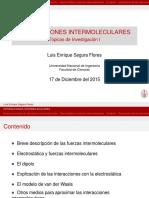 Interacciones Intermoleculares Beamer SEGURA FLORES 20112126K