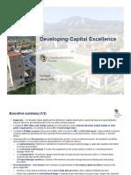 McKinsey & Company report on CU construction