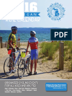 2016 Michigan Ride Calendar