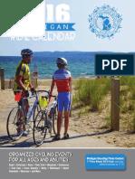 2016 Michigan Ride Calendar