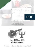 Ley 1090 de 2006