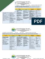 Plan de Area Matematica 6 2015