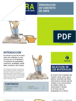 Manual Para Maestros de Obra – Guía Para Preparación de Concreto en Obra