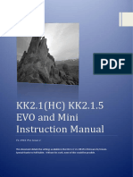 KK2.1.X Instruction Manual V1.19S1 Pro