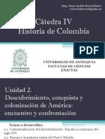 Unidad 2 Descubrimiento, Conquista y Colonización de América - Cátedra IV (Avances)