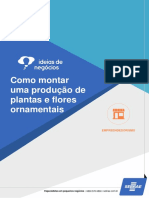 Como Montar Uma Produção de Plantas e Flores Ornamentais