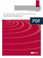 Feedback Statement Discussion Forum Financial Reporting Disclosure May 2013