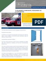 Proyecto Puerta Hermetica