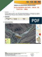 Huayco en Tupe