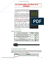 Les Commandes Secrètes de La HP48GX