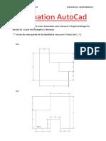 Formation AutoCad partie n° 1