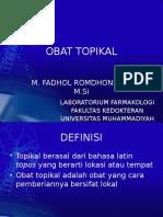 OBAT TOPIKAL