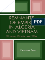 Pears - Remnants of Empire in Algeria and Vietnam; Women, Words, And War (2004)