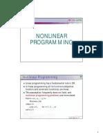 OD Nonlinear Programming 2010