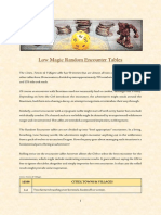 low magic random encounter tables