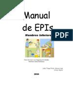 Manual de Equipamentos de Proteção de Membros Inferiores