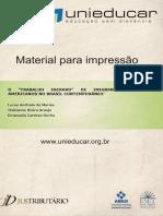 O Trabalho Escravo de Imigrantes Latinoamericanos no Brasil Contemporâneo