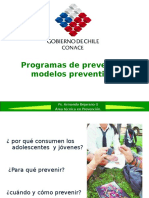 Programas de Prevencion Modelos Preventivos