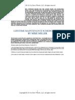 BMW Lifetime Maintenance Schedule v03.13