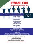 Job Advertisement - Feb2