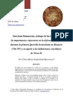 Dialnet-SanJuanDamascenoTeologoDeLasImagenesSuImportanciaE-3579942