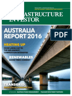 Infrastructure in Australia (Infrastructure Investor, February 2016)