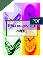 2_Elaborar uma apresentação electrónica
