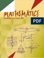 Maths 1 (XII)