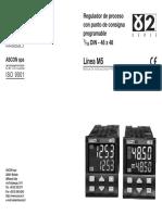 Controlador Ascon m5 (Freidora)