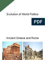 Evolution of World Politics