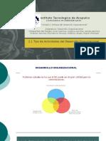 2.1 Tipos de Actividades del Desarrollo Organizacional.pptx