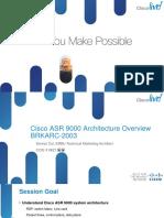 ASR 9000 Architecture