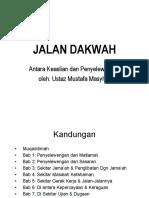 Slide Jalan Dakwah Antara Keaslian Dan Penyelewengan Mustafa Masyur