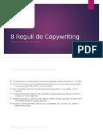 Reguli Copywriting