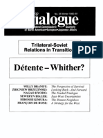 T25 - Trilateral-Soviet Relations In Transition - DTtente û Whither (1981)