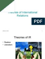 Theories of IR Somu