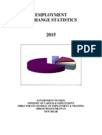 Employment Exchange Statistics 2015